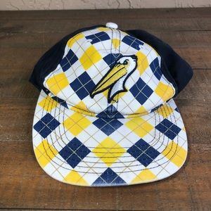 Myrtle beach pelicans baseball adjustable cap
